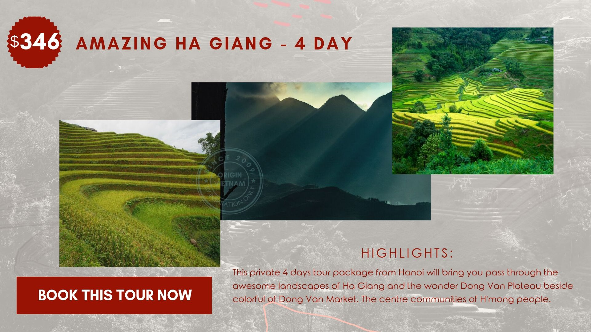 Ha Giang Tour 4 Day From Hanoi