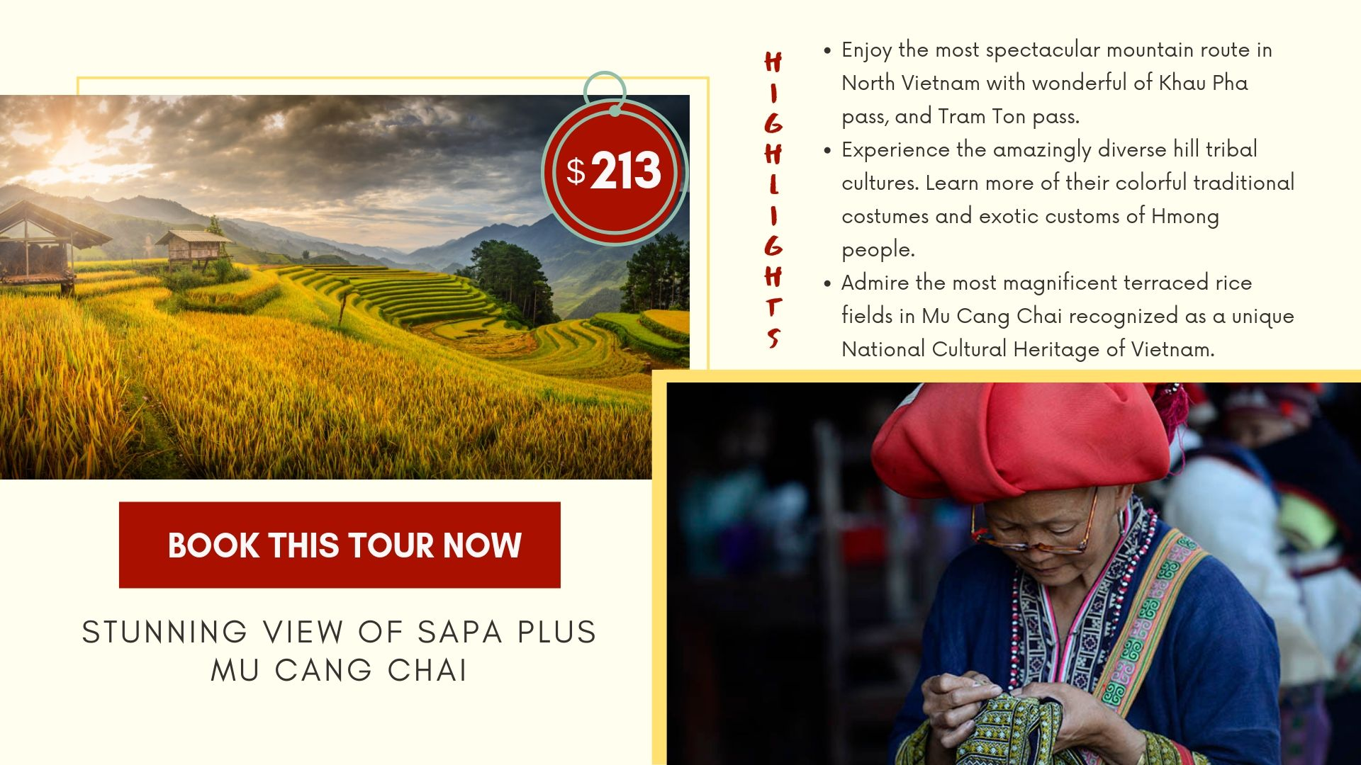 Stunning View Of Sapa Plus Mu Cang Chai 04 Days