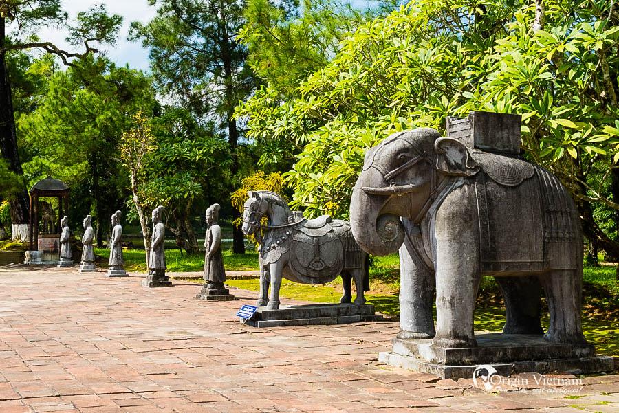 Tu Duc Tomb in Hue