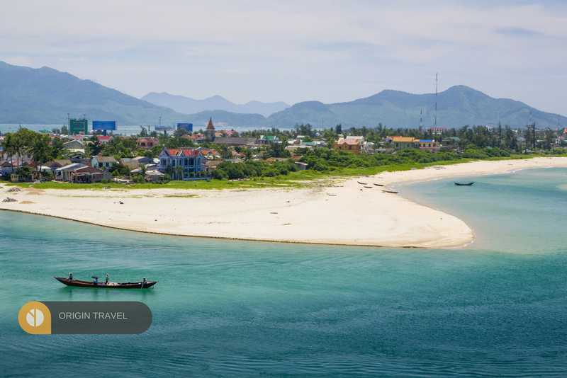 lang Co Beach. once of the most attraction place in Hue on Summer time