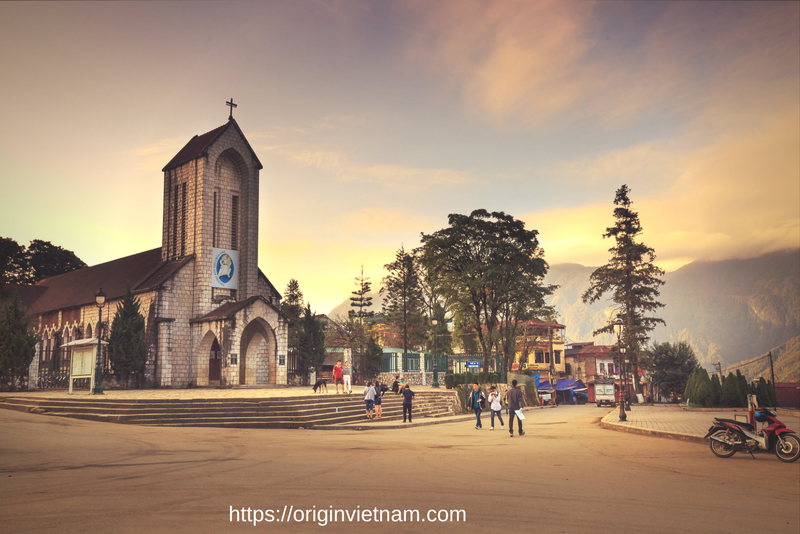 Sapa Church: It's was built by French People