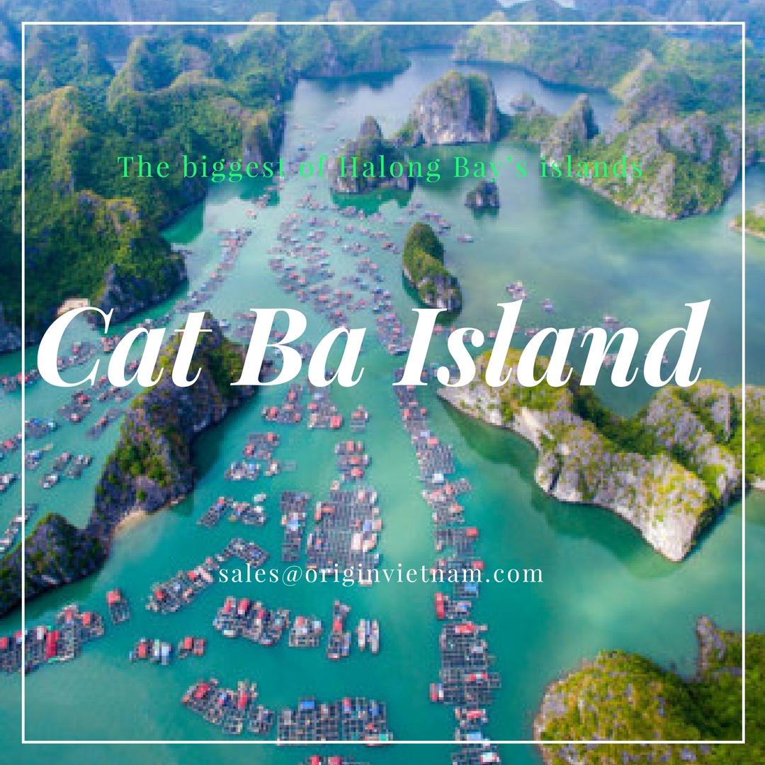 Cat Ba island