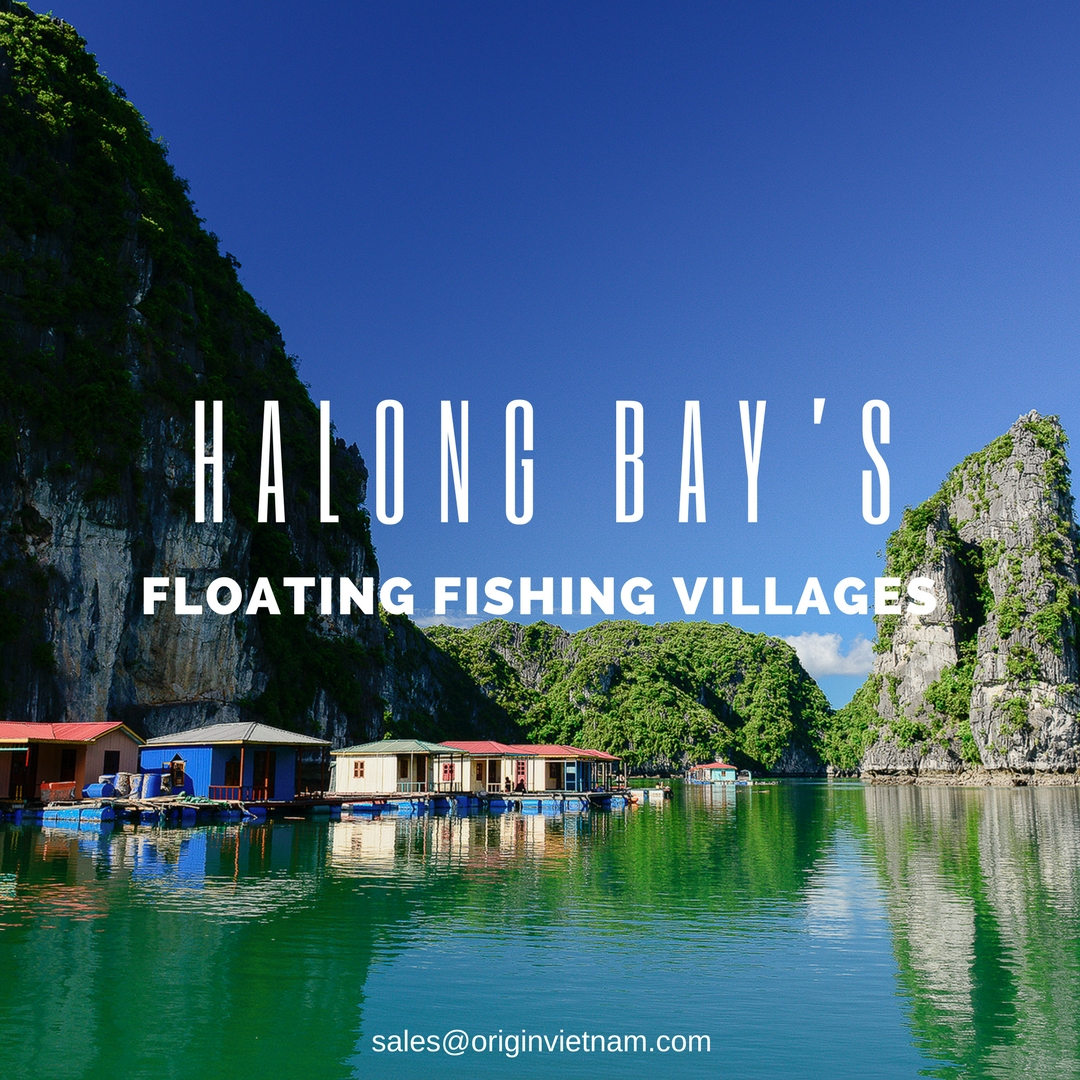 Halong Bay's floating fishing villages