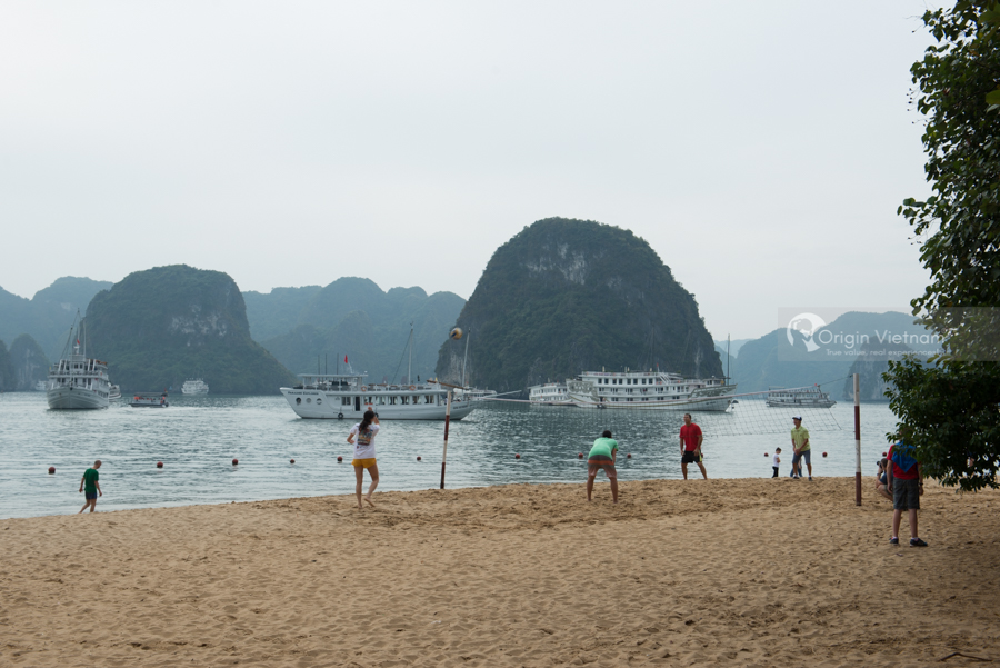 Halong Bay on summer