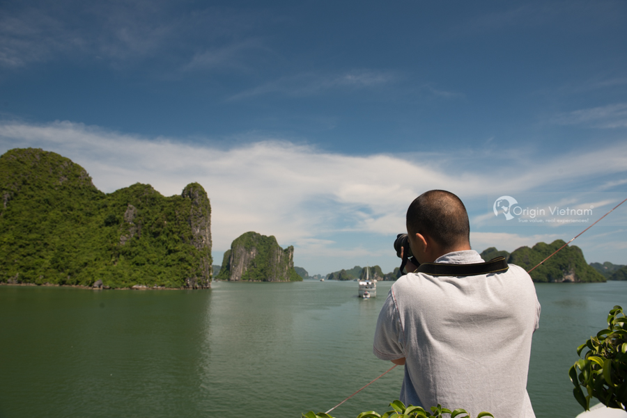 Ruby at Halong Bay