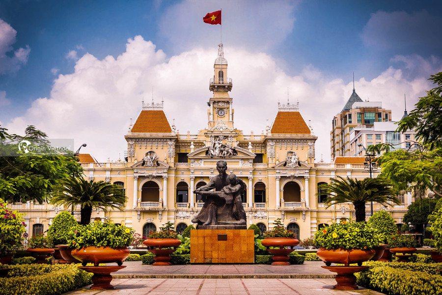 The Ho Chi Minh City Hall, or Ho Chi Minh City People's Committee