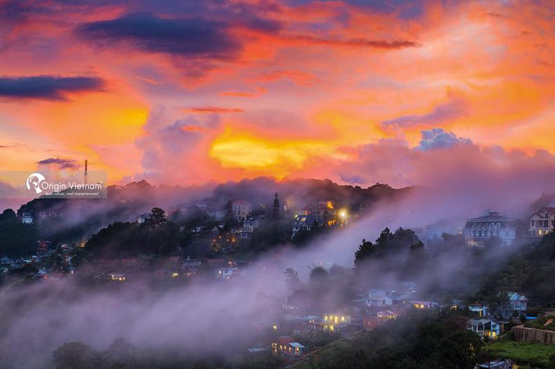 Sunrise in Dalat