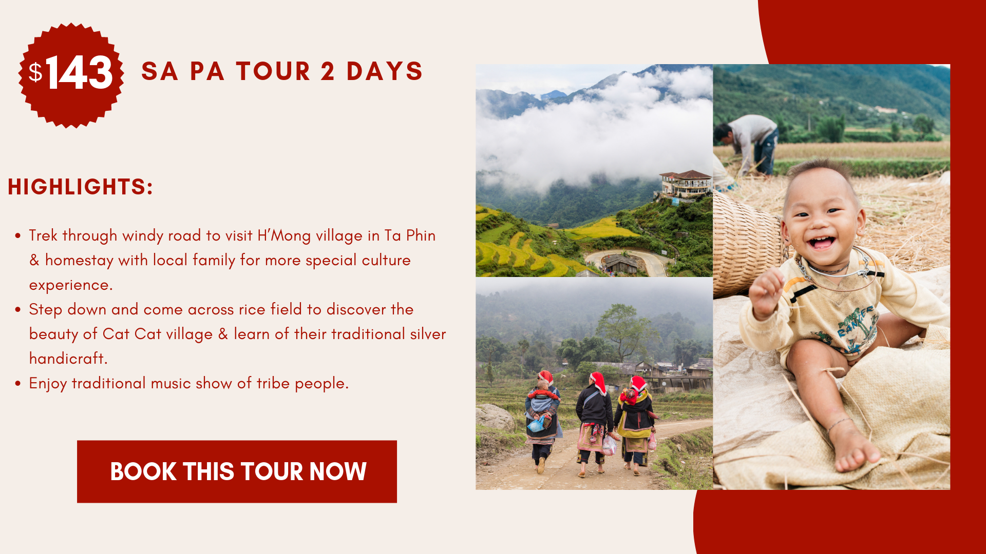 Tour Sapa 2 Day