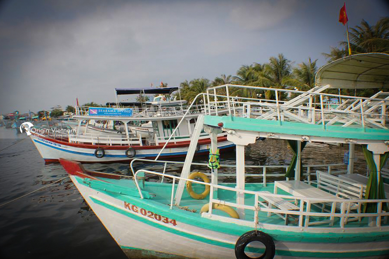 Boat rental in An Thoi