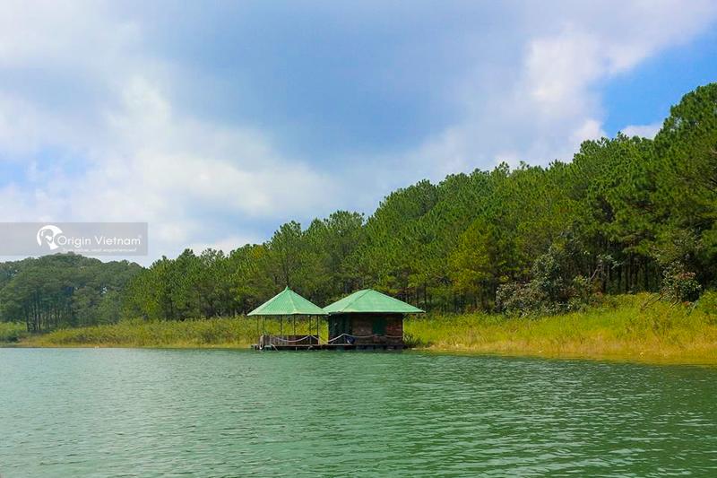The beautiful of Tuyen Lam lake