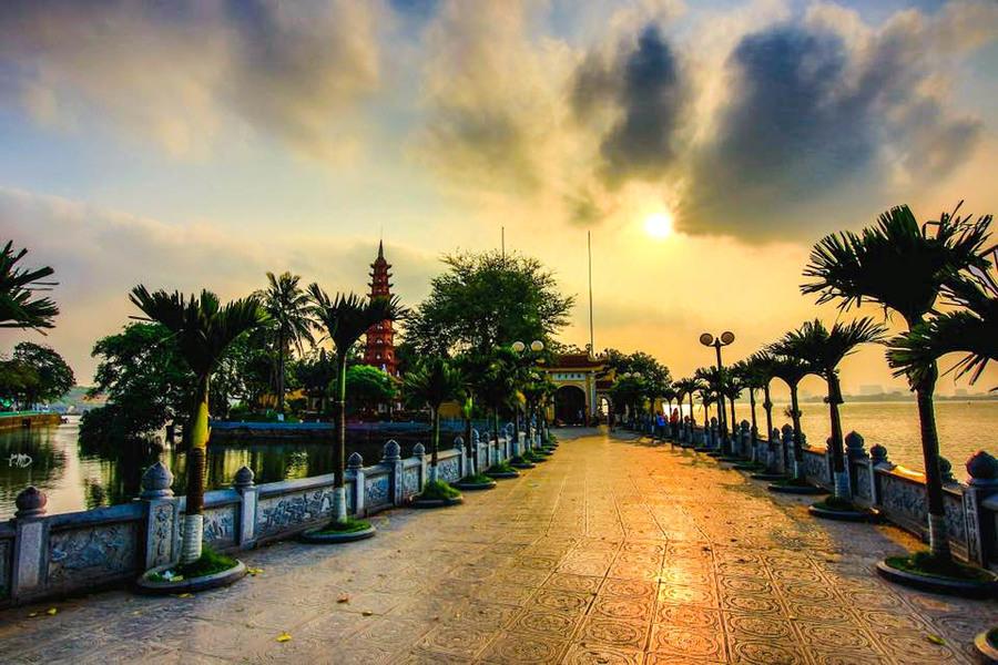 The Unique Architecture Of Tran Quoc Pagoda, ORIGIN VIETNAM
