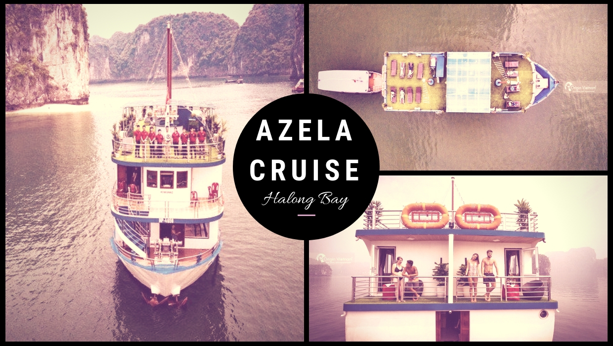 Azela cruise Halong Bay