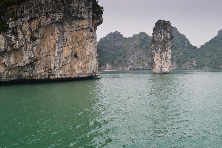 Lonely island Ha Long Bay