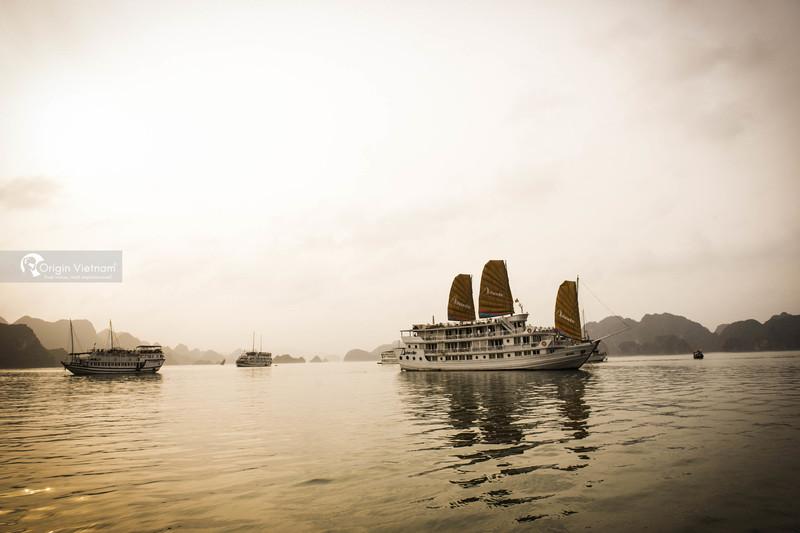 Halong Bay overnight cruise