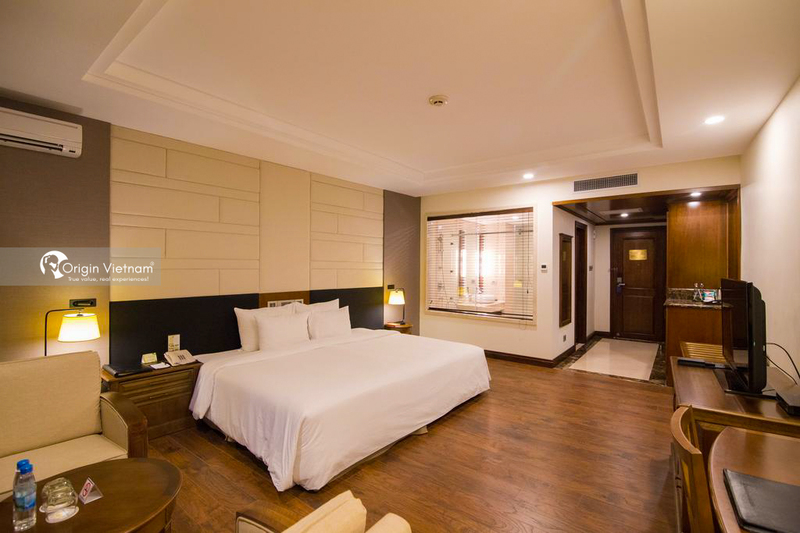 The room of Sai Gon Ha Long Hotel