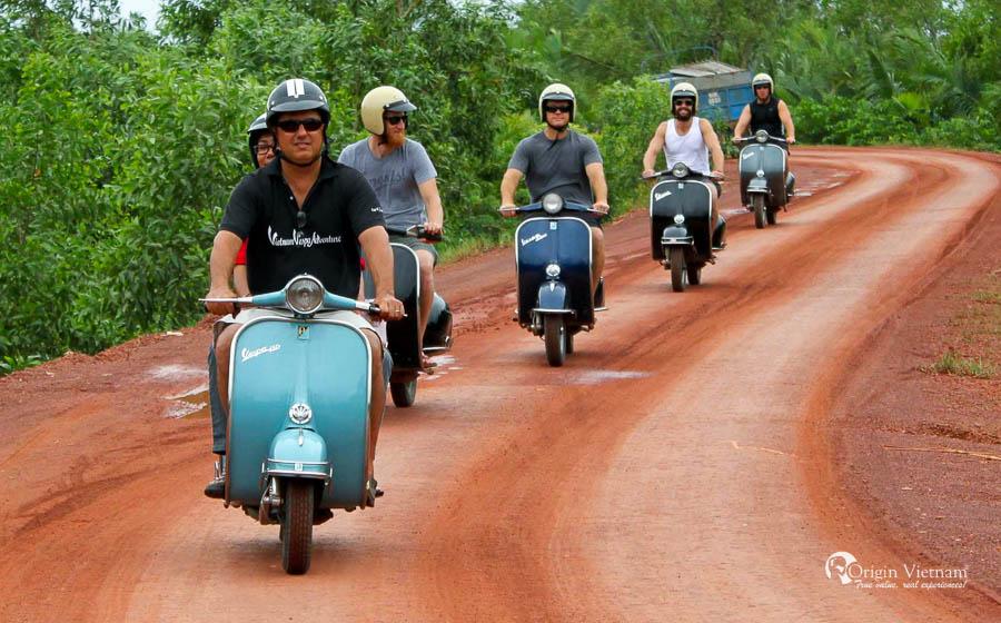 Mekong Delta by Vespa