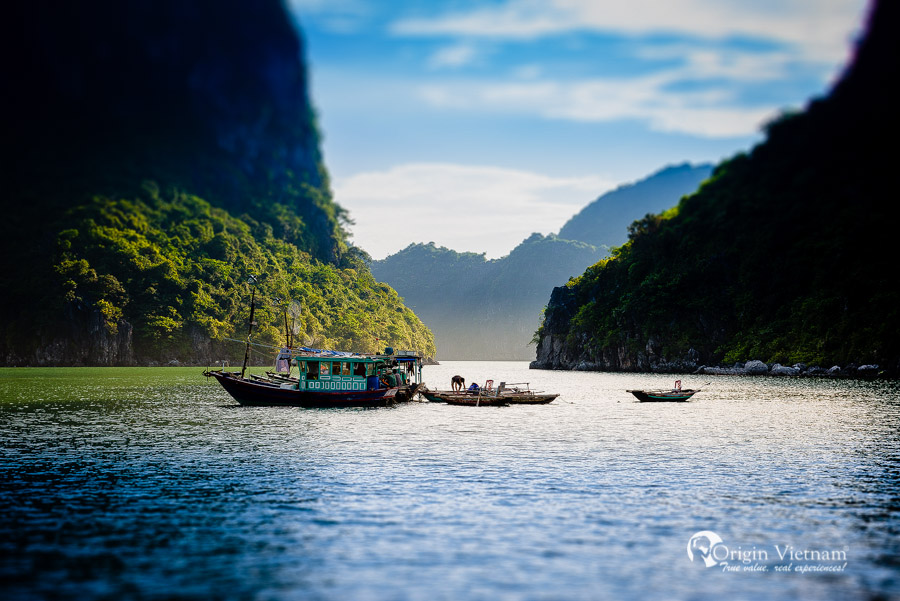 Halong Bay cruise 2 days with Huong Hai sealife cruise