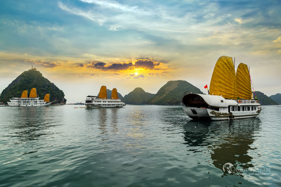 View Halong Bay from Titop Island