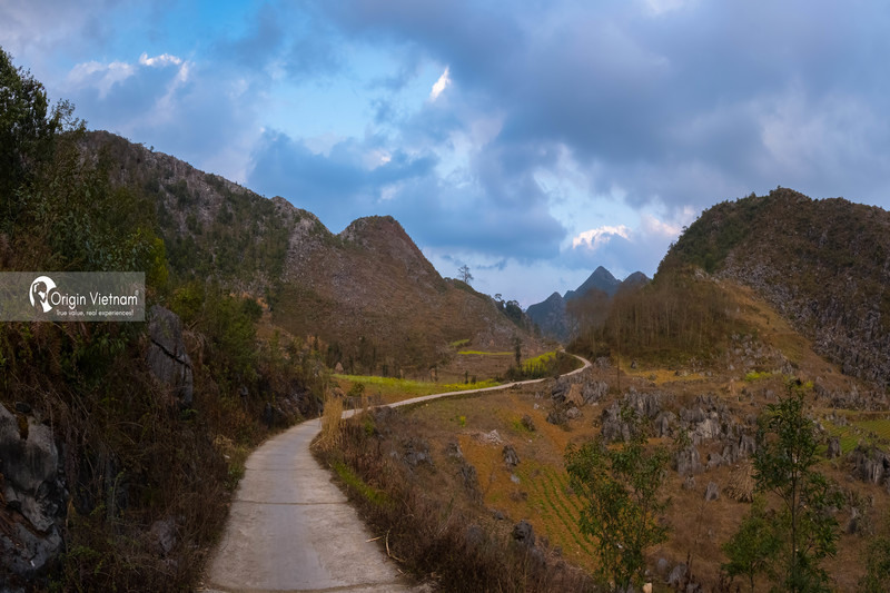 The slopes and passes in Ha Giang