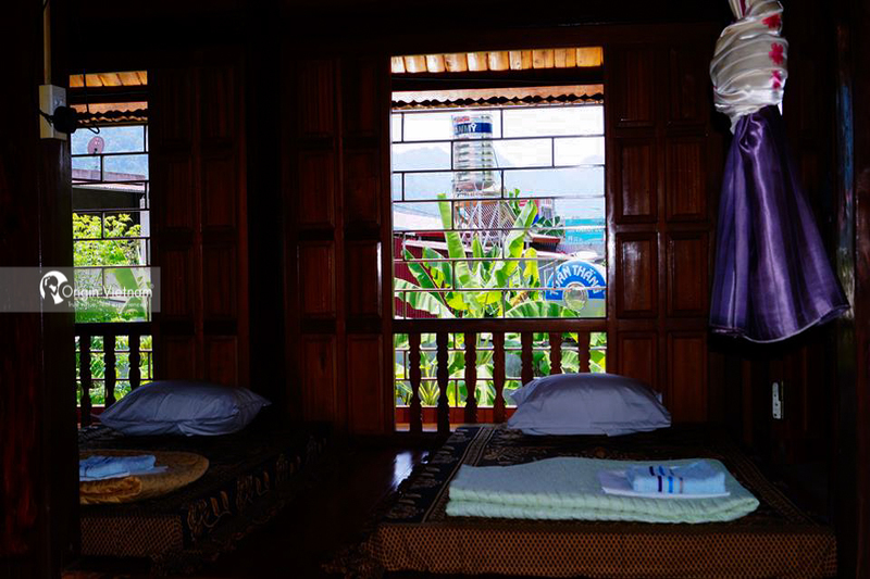 The room of Jungleman Homestay