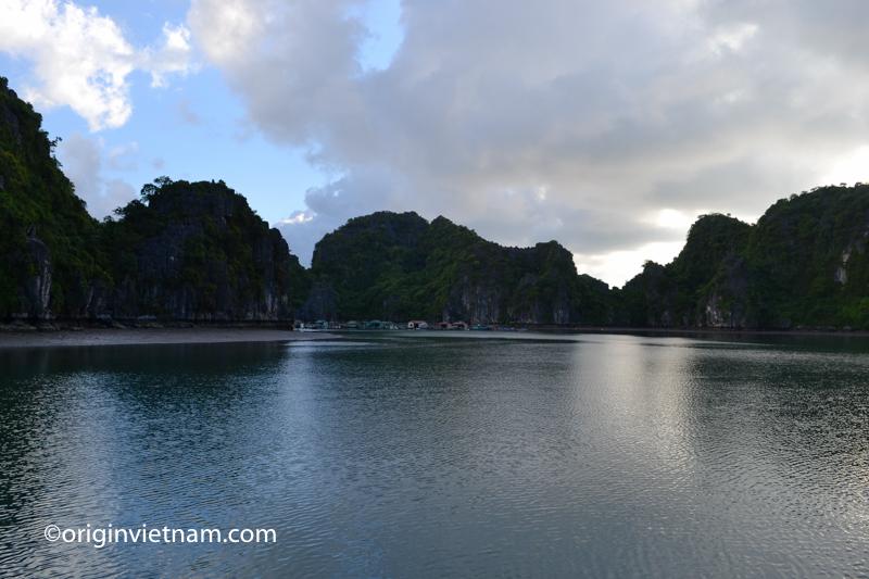 Fishing Village in Lan Ha Bay