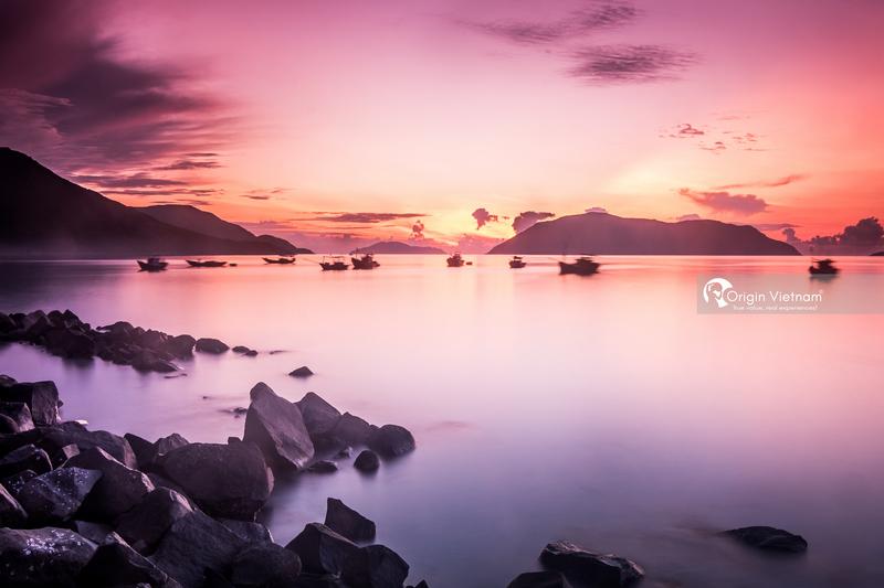 The Sunrise at Con Dao island