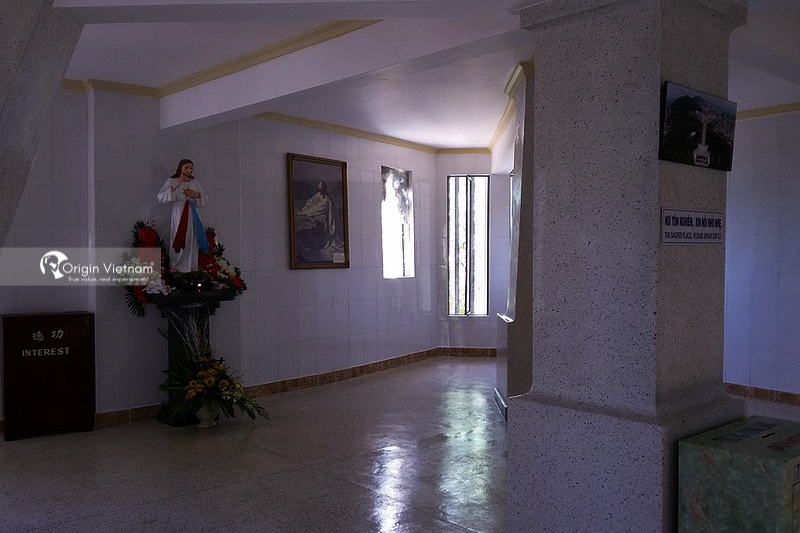 Inside Statue of Christ the King