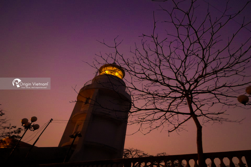 Vung Tau lighthouse at night