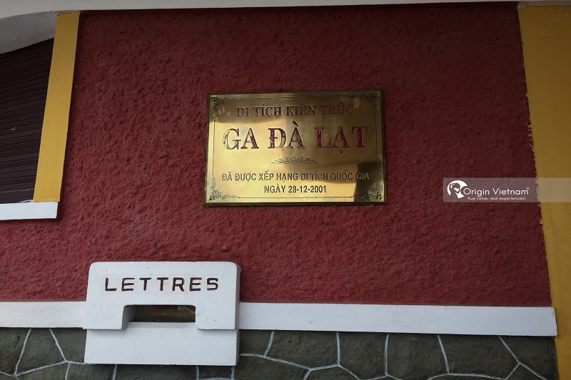 Da Lat Railway Station, ORIGIN VIETNAM