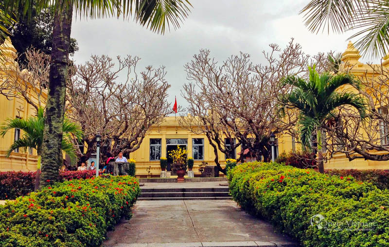 Cham museum in Da Nang - the tourist attraction in Da Nang after Asia Theme park and bana hill