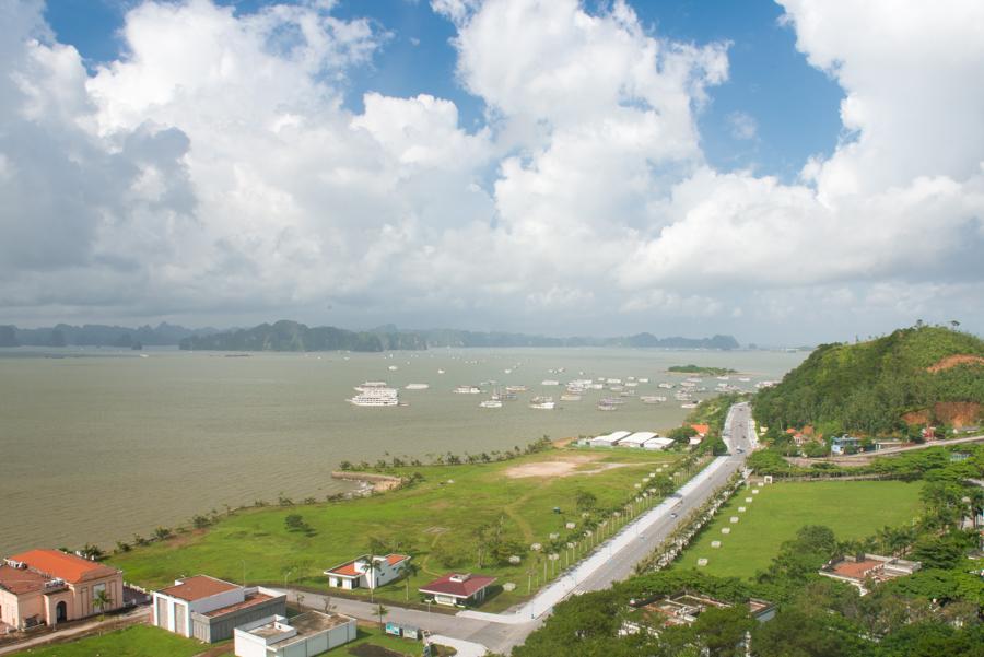Bai Chay Tourist boat habour