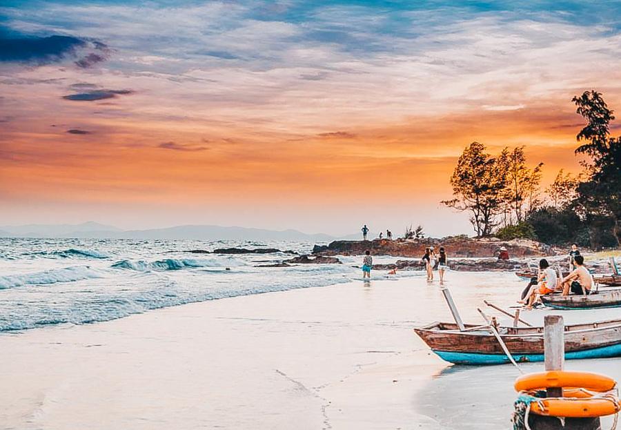 Sunset on Co To Beach