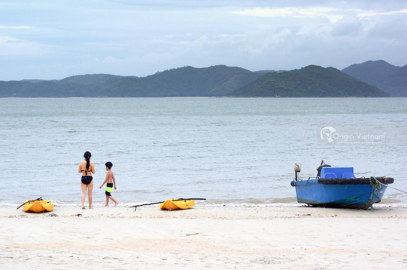 Goi island beach