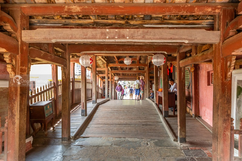 Japanese Covered Bridge, ORIGIN VIETNAM