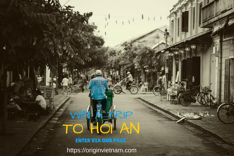 Win a trip to Hoi An Vietnam
