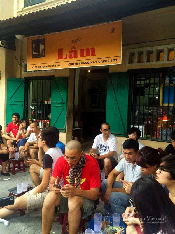 Top 5 coffee in Hanoi - Lam Coffee