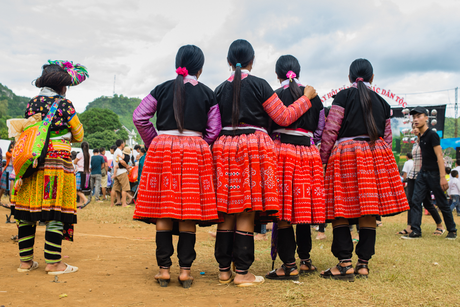 Hmong people in Suoi Giang