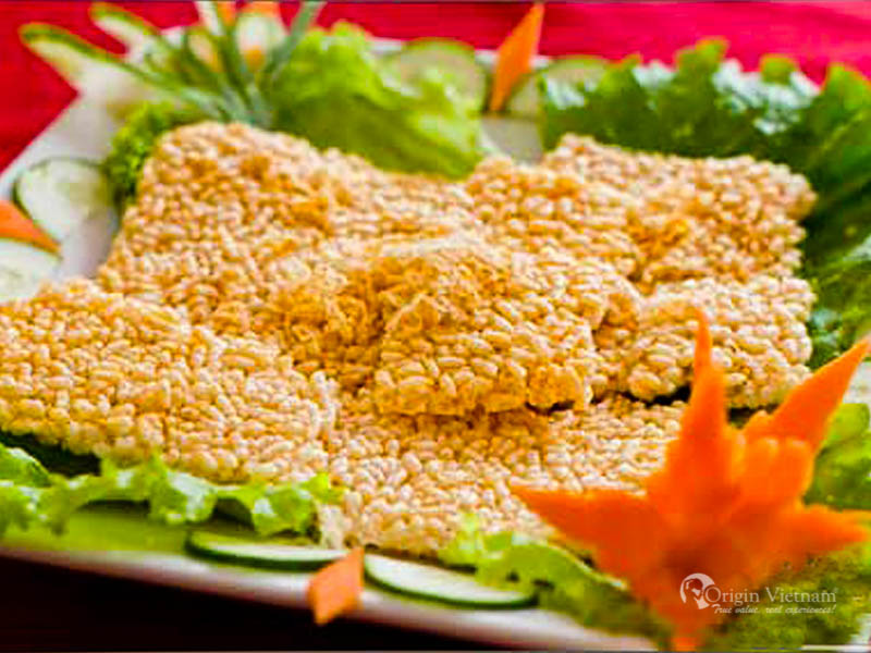 Com Chay Ninh Binh - It is great idea to mix with goat meat