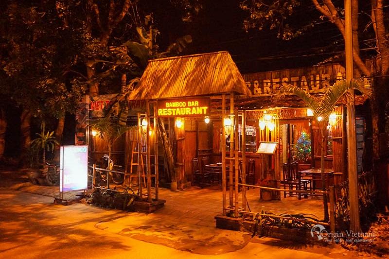 Viet Bamboo Restaurant in Ninh Binh