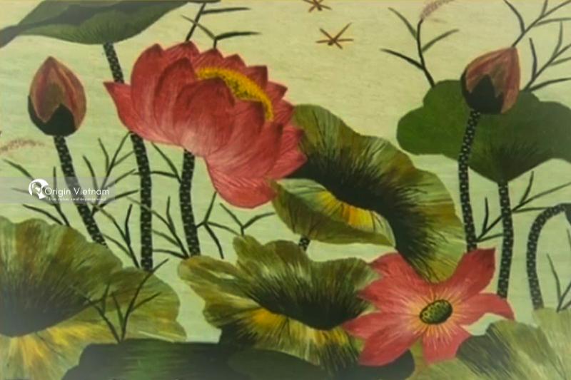 Van Lam Embroidery Village, ORIGIN VIETNAM
