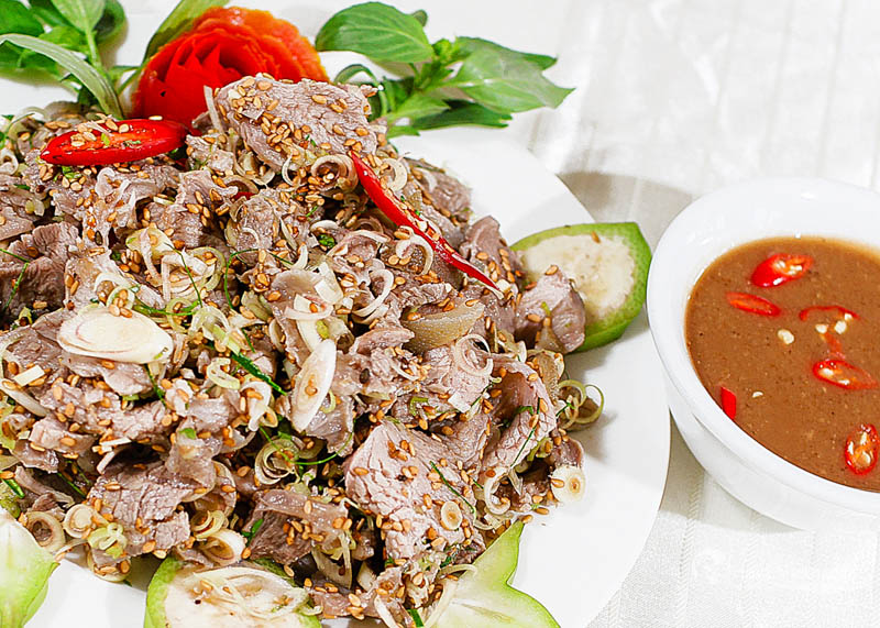 goat meat in Ninh Binh - the most famous food in ninh binh