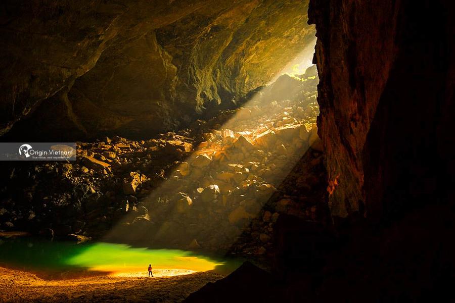 En cave