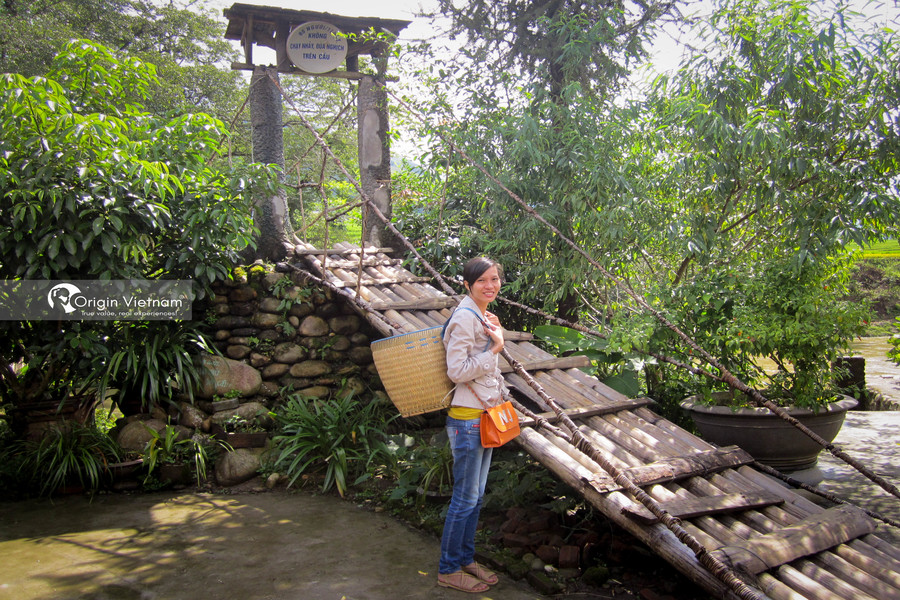Visit Cau May in Sa Pa