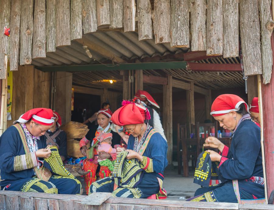 Red Zao at Homestay in Sapa Vietnam