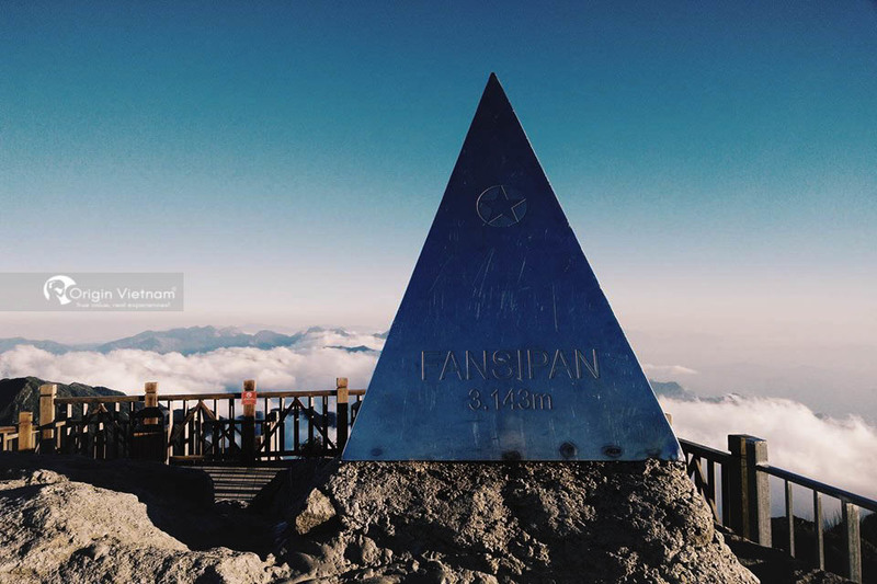 The top of Fansipan mountain