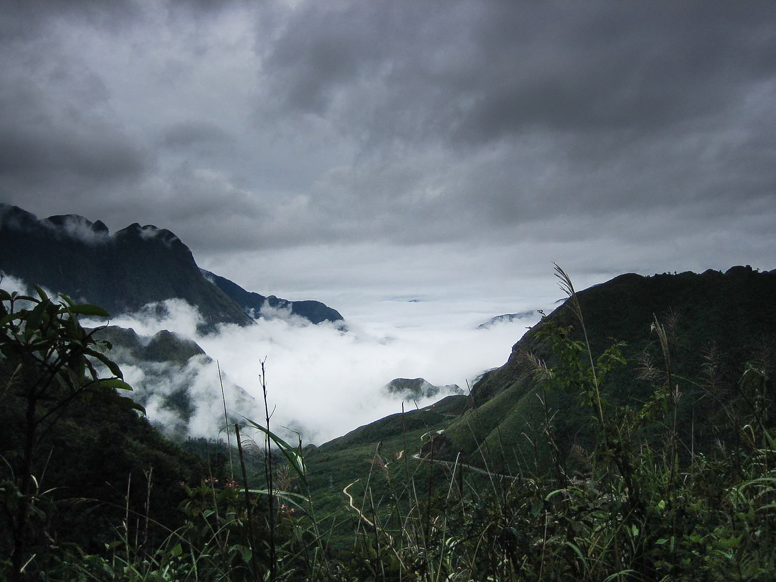 Cloudy day in Hoang Lien Son National Park