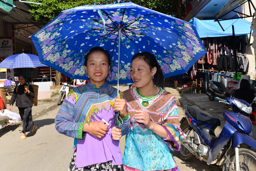 Bac Ha Sunday Market, ORIGIN VIETNAM